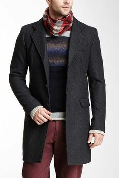 Sexy layering for your male friend