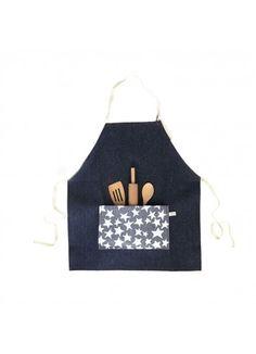 Apron Set / Denim Star - PLAY - Products : Fawn Shoppe - Global Boutique For Unique Children's Designs