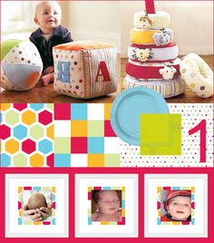 If you're on the lookout for some first birthday party ideas, here's an article I recently did for TheCradle.com featuring 3 theme ideas and general tips f