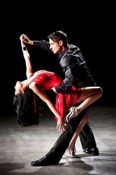 Red Tango dress