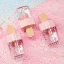 Online Shop Creative Ball Light Bulb Shape Mini Lip Gloss Tube Empty Lip Balm Container With Lid Rubber Inserts Lipstick Refillable Bottles Diy Lip Gloss, Lip Gloss Tubes, Lip Gloss Containers, Cosmetic Containers, Foam Wigs, Gloss Labial, Lip Conditioner, Lipstick Tube, Skin Products