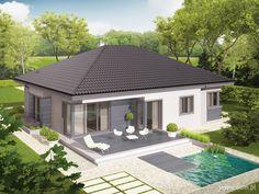 DOM.PL™ - Projekt domu AC Eris II G2 (wersja C) CE - DOM AF7-43 - gotowy projekt domu