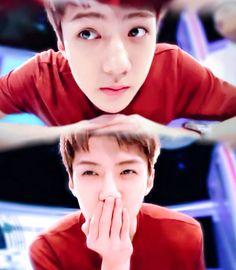 Sehun you are so freaking cute, why are all members so freaking cute, ahhhhhh