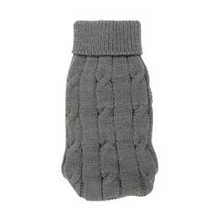 Uxcell Pet Chihuahua Twisted Knit Turtleneck Clothes Sweater, XX-Small, Gray -- Be sure to check out this awesome product. (This is an affiliate link and I receive a commission for the sales)