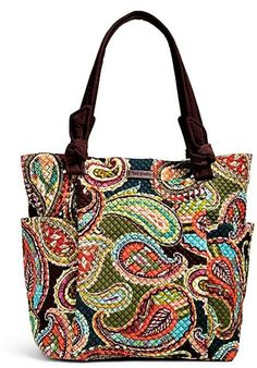 Vera Bradley Heirloom Paisley Tote Bag