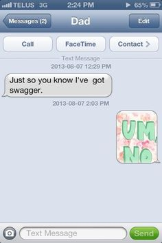This dad who was shut down hard. | 24 Men Who Should Be Banned From Texting