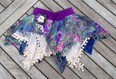 Zipfelrock aus Quadraten nähen - sew skirt from squares