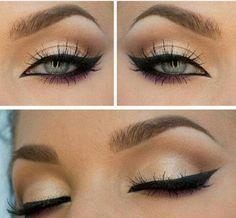 I want winged eyeliner like hers
