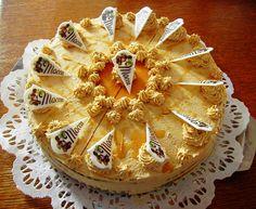 Mokkatorte - Austrian coffee cream cake