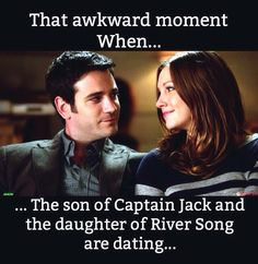 "Actually it is quite awesome. The Doctor and Captain Jack are related. (Tommy Merlyn, Laurel Lance - ""Arrow"")"