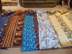 These are the homemade, adjustable, and washable weighted blankets  that many in the family worked on for Christmas. The design and most ...