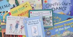 Top 100 kids books as voted by OHbaby members One Fish, Children's Picture Books, Book Lists, Childrens Books, All About Time, Parenting, Activities, Education, Kids