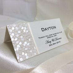 snowflake place cards.jpg | Wedding Place cards/table numbers ...