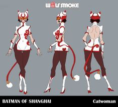 Catwoman from 'Batman of Shanghai' by Wolf Smoke Studio