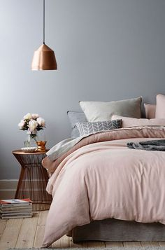 31 Beautiful Rose Gold Bedroom Design To Inspire You - Dlingoo Home Republic, Dreams Beds, Interior Photography, Suites, Deco Design, Design Design, Happy Design, Design Color, Home Design