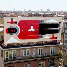 Agostino Iacurci.. . #streetart