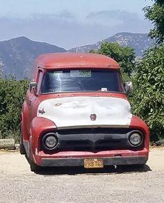 1956 Ford Truck, Ford Trucks, 56 Ford F100, Little Truck, Day Van, Panel Truck, Sedans, Custom Trucks, Buses
