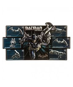 Batman Gear & Gadgets Embossed Metal Sign