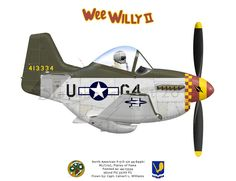 Planes of Fame P-51D Mustang Wee Willy III.