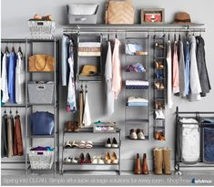 Step into Spring ... Organization! Shop storage staples and new organizing must-haves! For over 70 years, Whitmor has been bringing organization home.