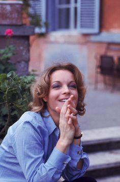 Romy Schneider by Eva Sereny. 1972
