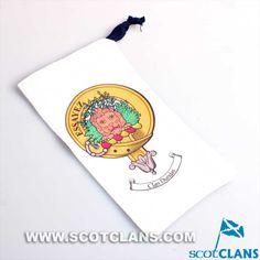 Dundas Clan Crest Spectacle / Phone Pouch