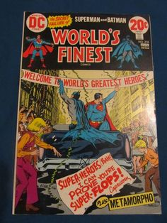 World's Finest #218 The Secret Failure of Superman and Batman VF+8.5!