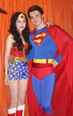 Classic Wonder Woman \u0026 Superman Homemade Costumes.