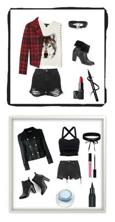 """""""Ensemble Stars"""" by kitty1022 ❤ liked on Polyvore featuring Topshop, Forever 21, UGG, Alexander Wang, Yves Saint Laurent, NARS Cosmetics, rms beauty, Christian Dior, SWEET MANGO and Boohoo"""