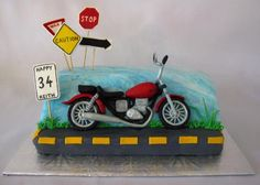 motorcycle cakes - Google Search