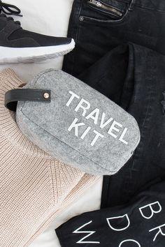DIY Emergency Travel Kit