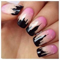 Nail art - New York #nails