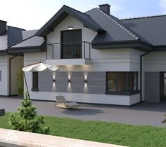 Expensive Houses, House Paint Exterior, House Painting, Bungalow, Home Fashion, Backyard, House Design, House Styles, Outdoor Decor