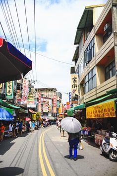 winding city streets | Beipu, Taiwan