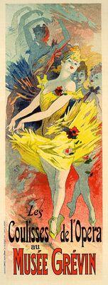 Cheret, Jules - PL. 37 - Les Coulisses de l'Opera