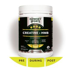 IsoWhey® Sports Creatine + HMB - Amino Acids - Supplements/Nutrition Post Workout Supplements, Supplements For Women, Amino Acid Supplements, Nutritional Supplements, Pre Workout Supplement, Bodybuilding Supplements, Pre And Post, Amino Acids, Coconut Oil