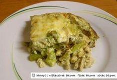 Rakott spárga 4. - csirkemellel Quiche, Cauliflower, Macaroni And Cheese, Food And Drink, Vegetables, Breakfast, Ethnic Recipes, Morning Coffee, Mac And Cheese