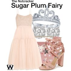 Inspired by the Sugar Plum fairy from The Nutcracker