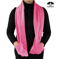 Two Elephants ® Soft Fleece Battery-Operated Heated Scarf