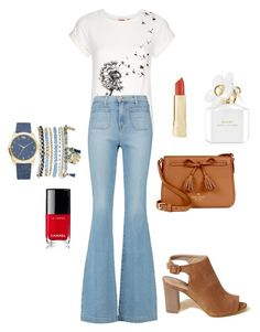 """Sem título #213"" by jullysakura on Polyvore featuring moda, Hollister Co., Louche, J Brand, Kate Spade, Mixit, Chanel e Marc Jacobs"