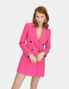 Blazer dress - Just in Smart Casual Outfit, Casual Outfits, Fashion Outfits, Fashion Clothes, Blazer Outfits, Blazer Dress, Floral Dress Outfits, Business Dresses, Bodycon Dress