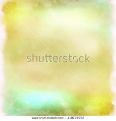 Background multi-colored water color, yellow. Gentle background, digital imitation of a water color. A pastel background for design, creation of invitation, greeting and wedding cards, etc.