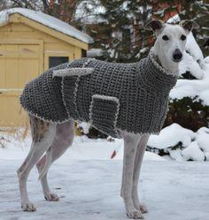 Hundepullover Stricken Mit Langem Halsteil Stricken Pinterest