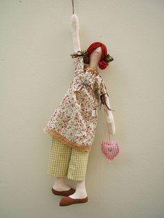 Boneca Pendurada! by Sherry - Maria Cereja, via Flickr