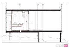 Juvet Landscape Hotel By JSA – Jensen & Skodvin Arkitektkontor – section | Designalmic