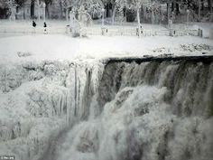 Frio recorde nos EUA e Canadá congela Cataratas do Niágara - AC Variedades