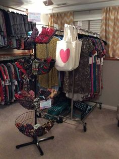My friend Tanya is showing us her LuLaRoom! Be sure to join her LuLaRoe Group. I like posting about LLR because many of my friends are reps, and I know it Garage Boutique, Boutique Decor, Mobile Boutique, Boutique Interior, Boutique Design, A Boutique, Clothing Booth Display, Small Boutique Ideas, Store Displays