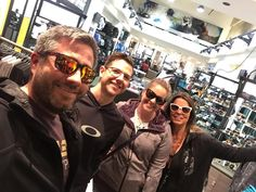 When in San Fran stop in at the Market Street O Store! So glad you were here tonight @notyourtypicaloptician so you could meet @shoiberg ; good meeting you Debbie.  #Oakley #OStore052 #OakleyFamily #Travel #SanFrancisco #CA #NoCal #TheAdventuresofHoiberg #OReview by h01b3rg