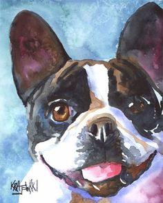 art# dog# french bulldog