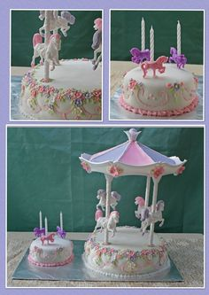 Wilton Merry Go Round Cake Decorating Set Details About